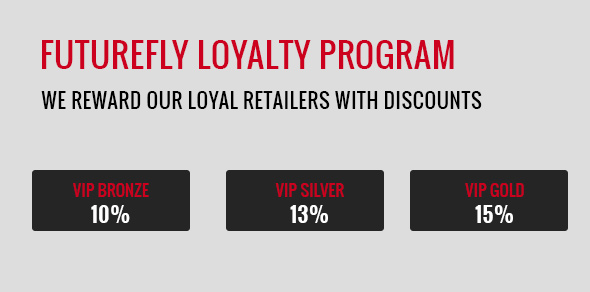 Get discounts as a FutureFly retailer